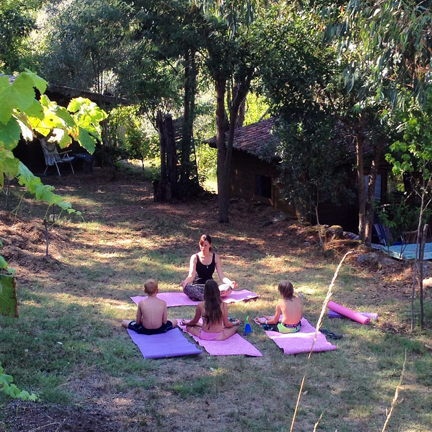 Kids yoga.